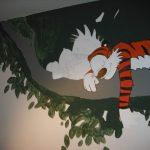 Calvin & Hobbes Painting