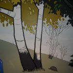 Calvin & Hobbes Birch Trees